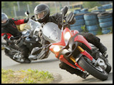 Multistrada 1200 track day / cornering school