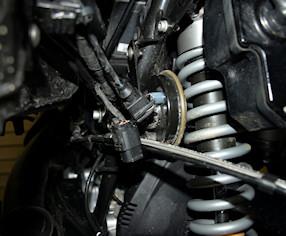 2008 R1200GS GPS power socket