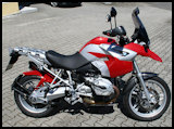 Hornig modified BMW R1200GS