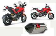 Multistrada 1200 Akrapovic exhausts