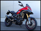 Piero modified custom Multistrada 1200S Sport