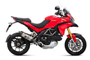 Multistrada 1200 MIVV exhausts