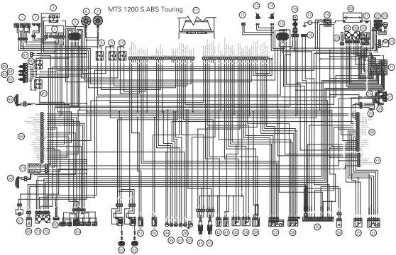 Multistrada 1200    Mts1200 Electronics And Electrics