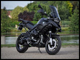 'BlackMat' modified BMW R1200GS GS-A by Panda Moto 89