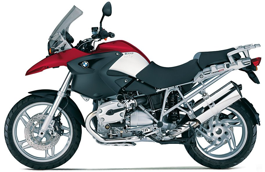 R1200GS Rock Red - Click to see the image enlarged