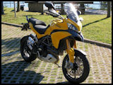 Factory yellow Ducati Multistrada 1200