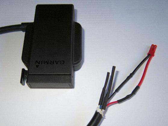 Garmin Zumo 660 Cradle   Cables Modification