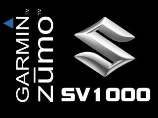 SV1000 Garmin Zumo Splash screen